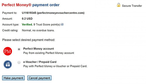 How to create your Perfect Money account? Perfect Money e-Voucher